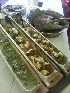 Hasil Masakan DAD Simpang Dua. (Foto: Monga.id)
