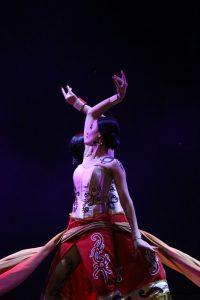 """Kontingen BEDAYONG """"perform"""" di PSBDK XV Jogjakarta, Rabu (15/11) (Foto: IST)"""