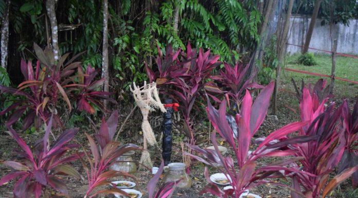 Keramat Nek Male di Kompleks Pendopo Bupati Ketapang. Foto