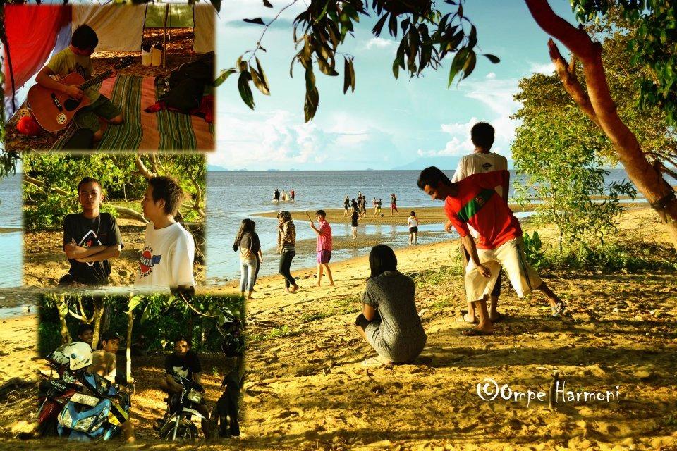Indahnya Pesona Pantai sebagai tempat yang baik untuk pelepas penat. Foto : IST.MONGA.ID