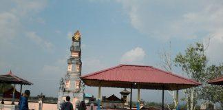 Pura Giriamerthabuana yang ada di Kampung Bali Sedahan Jaya. Pit /monga.id