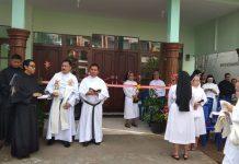 Pastor OSA resmi berkarya di Keuskupan Ketapang. Foto dok: IST/ MONGA.ID-Dwi Za Bagastia